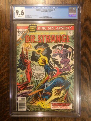 Doctor Strange Annual 1 CGC 9.6