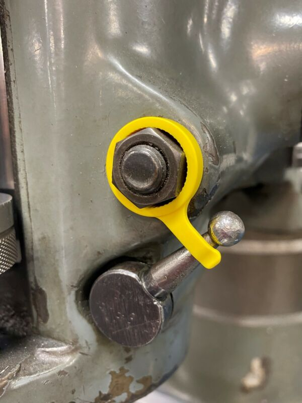 bridgeport milling machine parts brake lever holder