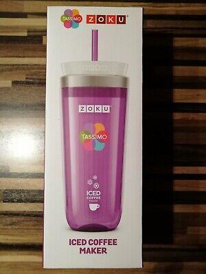 NEU OVP Zoku Iced Coffee Maker Eiskaffee Eistee Zubereiter 325 ml lila (1 / 3) (Iced Coffee Maker)