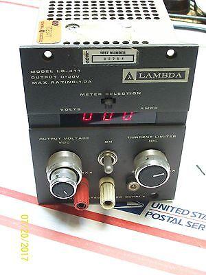 Lambda Regulated Power Supply Lq-411