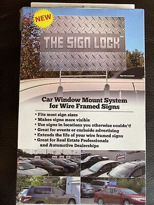 The Sign Lock Car Mount System For Corrugated Business Signs Easy Advertising