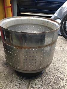 Stainless Steel Fire Pit Drum Heater BBQ Dandenong Greater Dandenong Preview