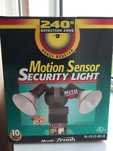 Heath Zenith Motion Sensor Security Light