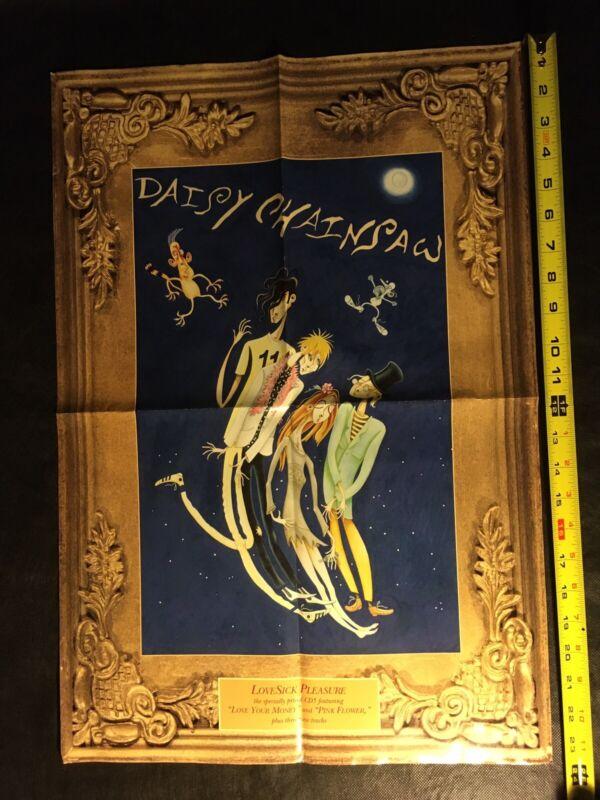 DAISY CHAINSAW PROMO Poster LoveSick Pleasure 1992 A&M 16x24