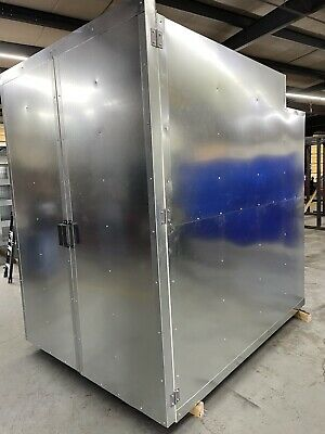 6x8x8  Gas Powder Coating Batch Oven  Models Free Shipping
