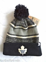 Toronto Maple Leafs Retro '47 Brand Navy Grey Beanie Bobble Tuque Hat Nhl Hockey - official nhl  by '47 brand - ebay.co.uk