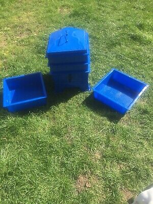 4-Tray Wormery Worm Farm Organic Composting Bin Established Working Stacking