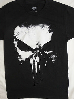 The Punisher Big Skull Logo Marvel Comics T-Shirt (Punisher Shirt)