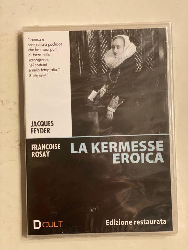 LA KERMESSE EROICA RARO DVD vendita - JACQUES FEYDER FRANCOISE ROSAY