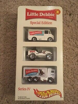 Hot Wheels Special Edition Series IV Little Debbie 3 Pack Special Edition