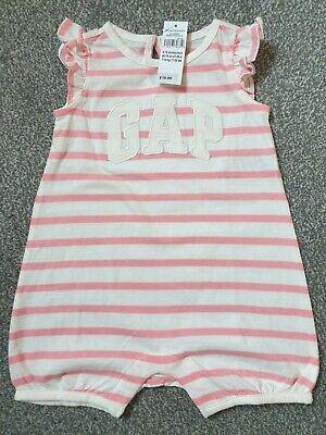GAP Summer Short Sleeve Baby Romper - BNWT - RRP £16.99