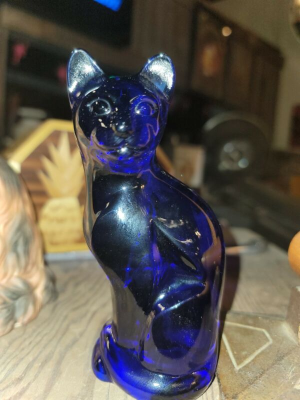 COBALT BLUE FENTON CAT