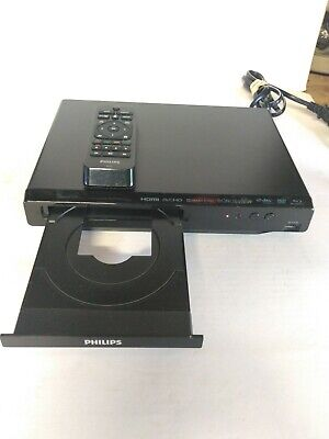 Philips Blu-Ray Disc/ DVD Player #BDP3502/F7 + Bonus View Hdmi- Avchd  New Other