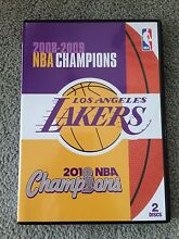 *****2009 2010 NBA Champions Los Angeles Lakers DVD 2 Discs Camberwell Boroondara Area Preview
