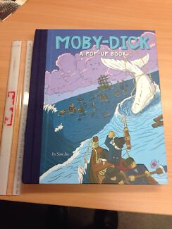 Moby Dick pop up book $10 Cobram Moira Area Preview