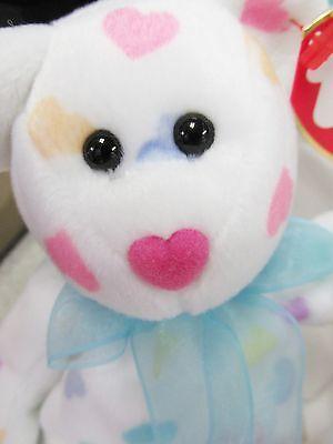 Ty - Beanie Baby Kissme Valentines Bear BRAND NEW * PRISTINE MINT w/ MINT TAGS