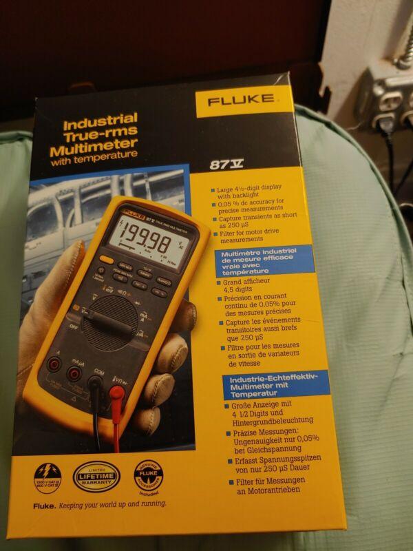 Fluke 87-V Digital Industrial Multimeter **msrp $439.99**