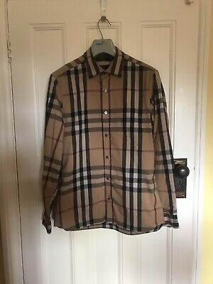 Burberry Check Shirt size medium
