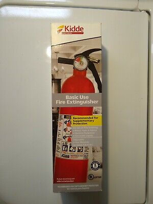 Kidde 21007442mtl 1a10bc Fire Extinguisher Home And Garage Car New