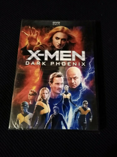 X-Men: Dark Phoenix (DVD, 2019) New Sealed USA