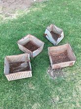 Grape picking steel baskets Murray Bridge Murray Bridge Area Preview