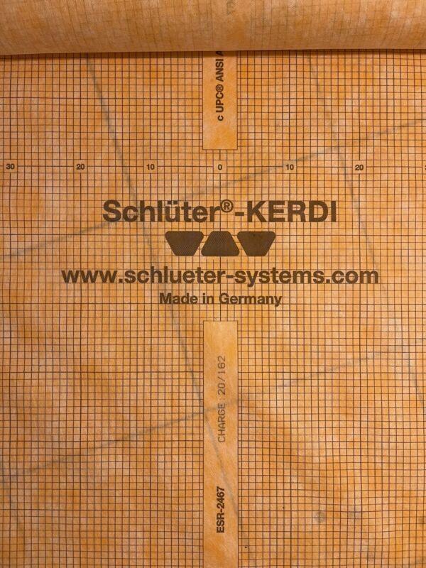 Kerdi Waterproof Membrane Schluter 120 Sf