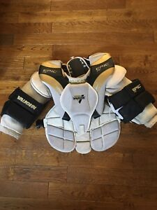 Vaughn youth Large goalie chest protector.