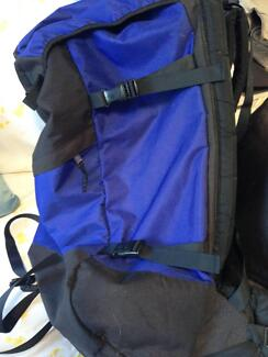 Backpack suit hiker