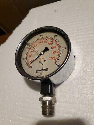 Enerpac Hydraulic Pressure Gauge 300 Psi