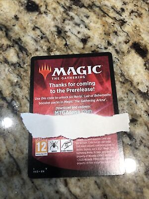 Magic The Gathering Arena Ikoria Prerelease Kit 6 Pack Code - Email ONLY