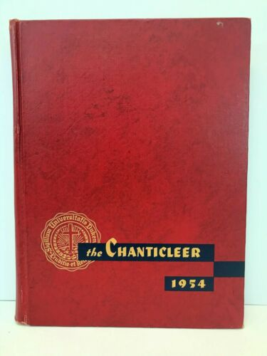 1954 THE CHANTICLEER Duke University Annual Yearbook