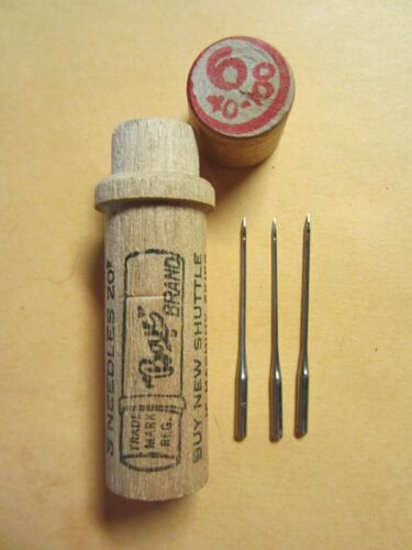 Boye Standard Rotary, Davis NVF 15x1 Treadle Sewing Machine Needles