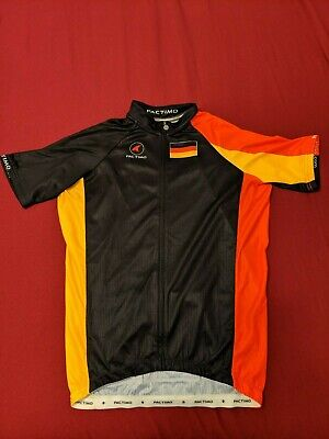 Men s Pactimo Country Cycling Jersey - GERMANY - size S 0f2a6a6c6