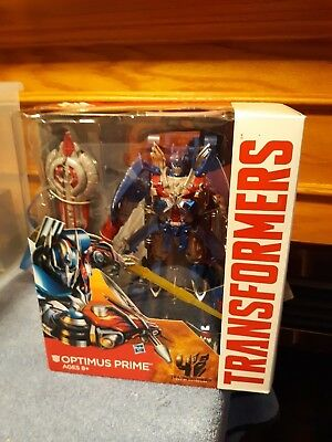 Transformers Age of Extinction AOE Leader Class Optimus Prime NIB