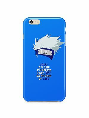 Naruto  Kakashi Quote Iphone 4 4s 5 5s 5c SE 6 6s 7 8 X XS Max XR Plus Case 17 ()