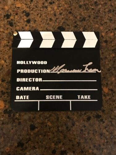 * NORMAN LEAR * signed director clapboard * ALL IN THE FAMILY * PROOF * 1