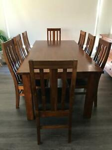 Dinning table and buffet