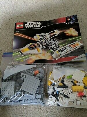 LEGO Star Wars Y-Wing Fighter (7658) 100% Complete, No Box