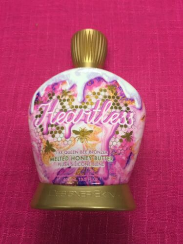 heartless 15x queen bee bronzer tanning lotion