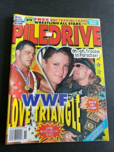 Wrestling All Stars Number 132 November 2000, WWF, WWE, WCW, Triple H, Poster... - $16.00