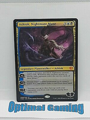 Ashiok, Nightmare Muse Theros Beyond Death Magic English MTG Optimal Gaming