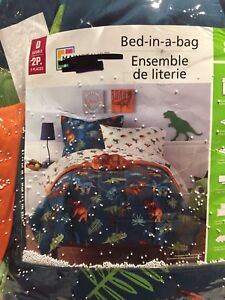 8 pieces Bedding set - Double size