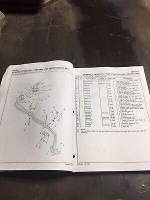 New Holland 1530163017251925 Tractor Parts Catalog A Must Have For Repairs