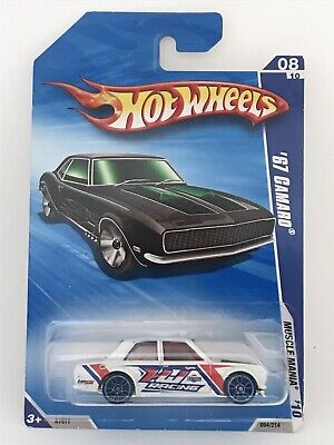 Hot Wheels 2010 Nightburnerz Datsun Bluebird 510 Package Error '67 Camaro