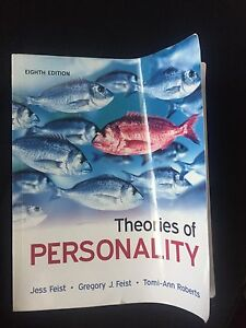 Theories of Personality 8th ED For sale