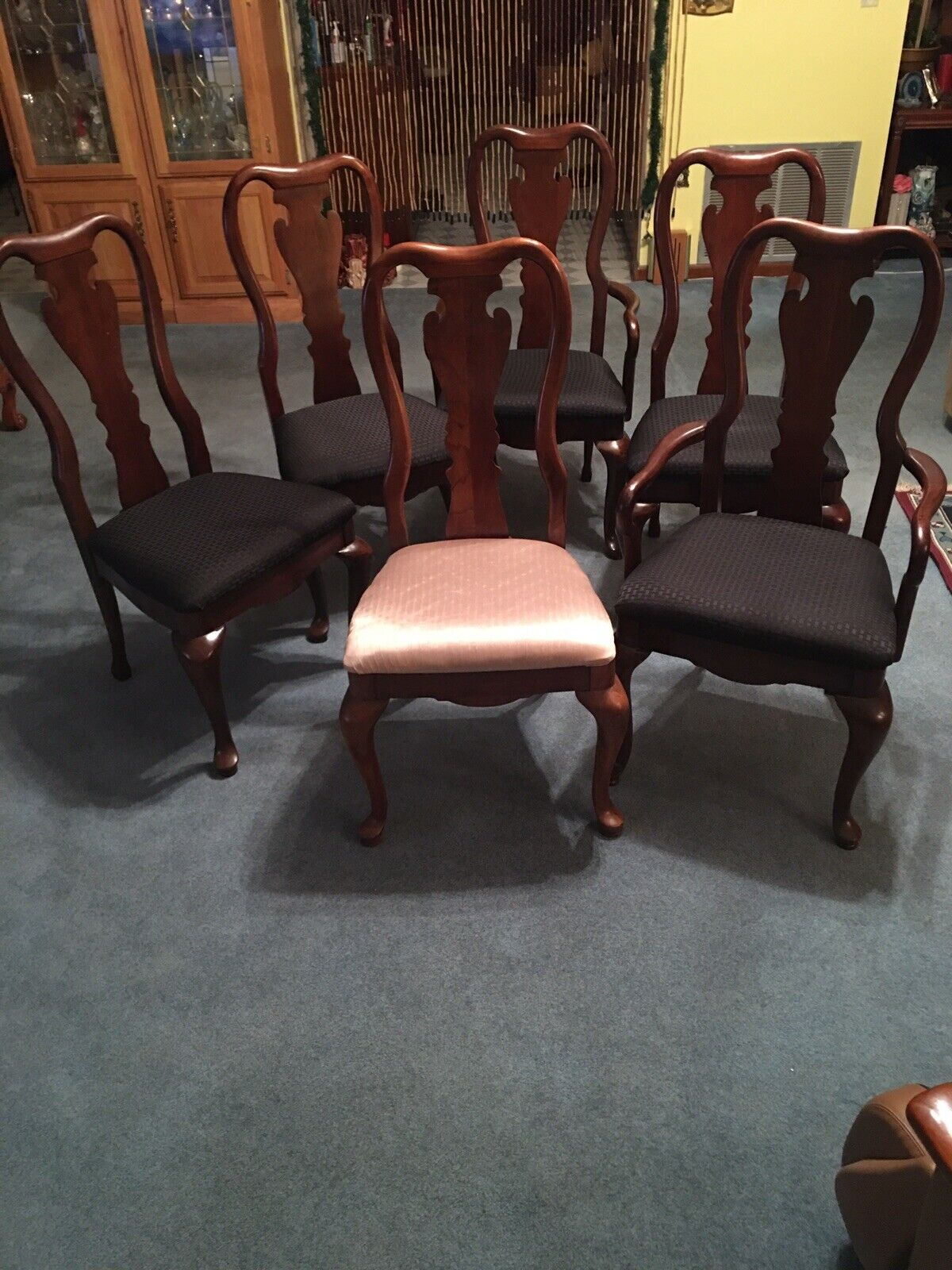 THOMASVILLE FURNITURE Collectors Cherry Dining Side Chair 10121-831 10121-832 - $630.00