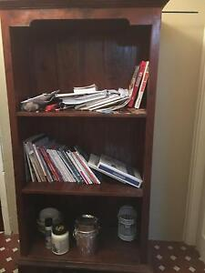 Mahogany Bali style bookcase Queanbeyan Queanbeyan Area Preview