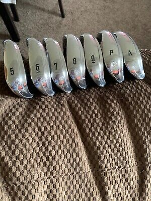 New Callaway Rogue X 20 5-PW, GW Stiff Flex Steel shaft RH