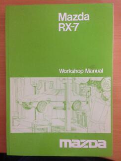 Mazda RX7 Series 1 Workshop Manual