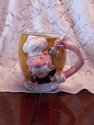 Vintage Gloria Jeans Baker Man Mug/Coffee Cup 2007 Original Receipt
